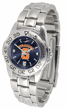 Syracuse Sport Anonized Women's Steel Band Watch