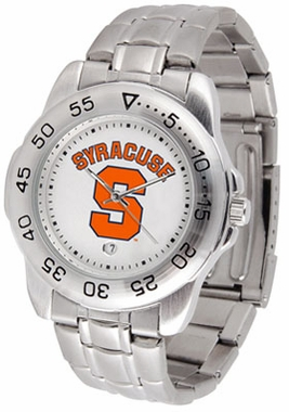Syracuse Sport Men's Steel Band Watch