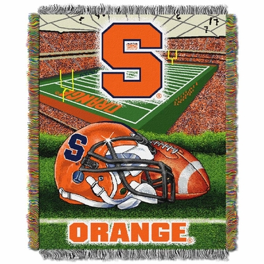 Syracuse Woven Tapestry Blanket