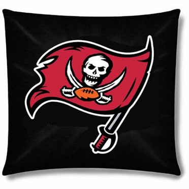 Tampa Bay Buccaneers 15 Inch Applique Pillow