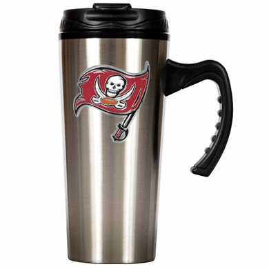 Tampa Bay Buccaneers 16 oz. Thermo Travel Tumbler (Slim)