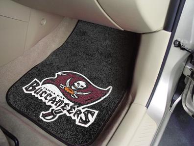 Tampa Bay Buccaneers 2 Piece Car Mats