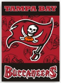 Tampa Bay Buccaneers 2 Sided Banner (P)