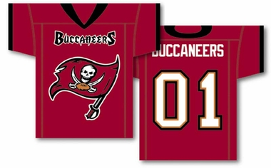 Tampa Bay Buccaneers 2 Sided Jersey Banner Flag (F)