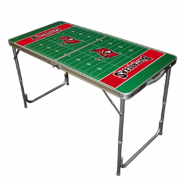 Tampa Bay Buccaneers 2 x 4 Foot Tailgate Table