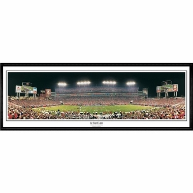 Tampa Bay Buccaneers 32 Yard Line Framed Panoramic Print