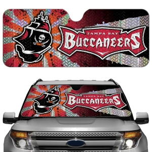 Tampa Bay Buccaneers Auto Sun Shade