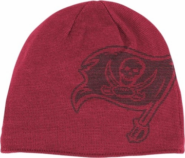 Tampa Bay Buccaneers Big Logo Knit Hat