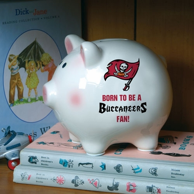 Tampa Bay Buccaneers (Born to Be) Piggy Bank