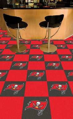 Tampa Bay Buccaneers Carpet Tiles