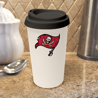 Tampa Bay Buccaneers Ceramic Travel Cup