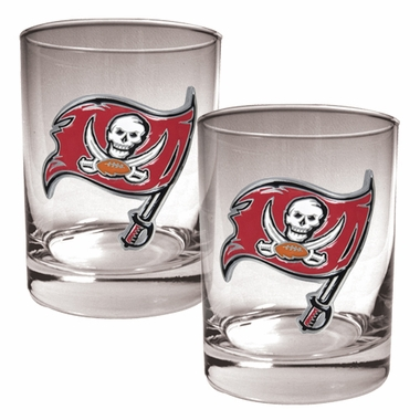 Tampa Bay Buccaneers Double Rocks Set