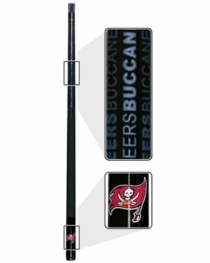 Tampa Bay Buccaneers Eliminator Pool Cue