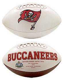 Tampa Bay Buccaneers Embroidered Signature Series Football