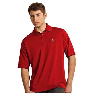 Tampa Bay Buccaneers Mens Exceed Polo (Team Color: Red) - XXX-Large