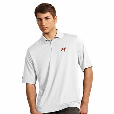 Tampa Bay Buccaneers Mens Exceed Polo (Color: White)