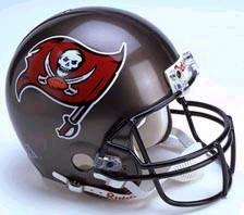 Tampa Bay Buccaneers 1997-2013 Throwback Riddell Deluxe Replica Helmet