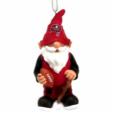 Tampa Bay Buccaneers Gnome Christmas Ornament