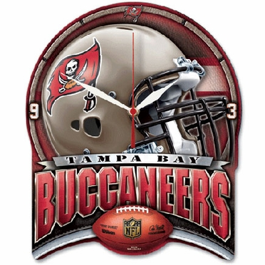 Tampa Bay Buccaneers High Definition Wall Clock