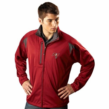 Tampa Bay Buccaneers Mens Highland Water Resistant Jacket (Team Color: Red)