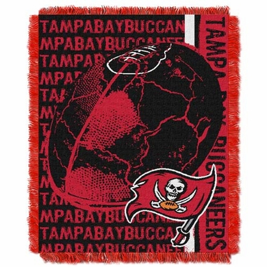 Tampa Bay Buccaneers Jacquard Woven Throw Blanket