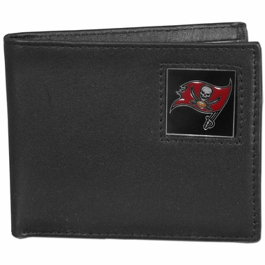 Tampa Bay Buccaneers Leather Bifold Wallet (F)