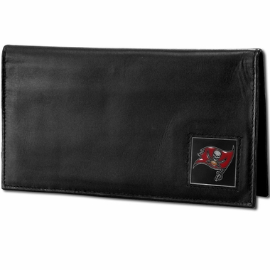 Tampa Bay Buccaneers Leather Checkbook Cover (F)