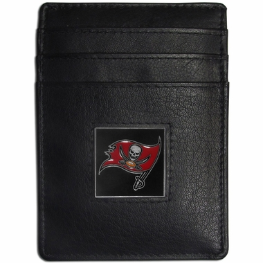 Tampa Bay Buccaneers Leather Money Clip (F)