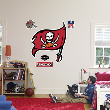 Tampa Bay Buccaneers Logo Fathead Wall Graphic