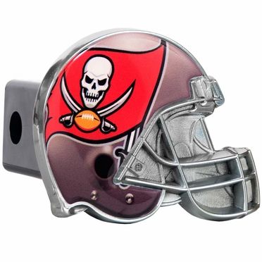 Tampa Bay Buccaneers Metal Helmet Trailer Hitch Cover