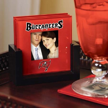 Tampa Bay Buccaneers Photo Coaster Set