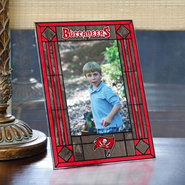 Tampa Bay Buccaneers Portrait Art Glass Picture Frame
