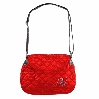 Tampa Bay Buccaneers Quilted Saddlebag