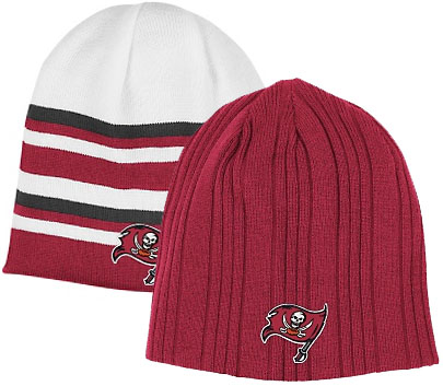 Tampa Bay Buccaneers Reversible Cuffless Knit Hat