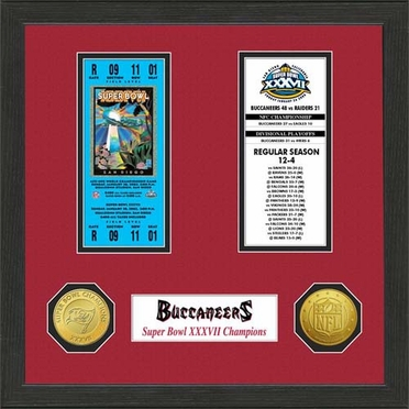 Tampa Bay Buccaneers Tampa Bay Buccaneers SB Championship Ticket Collection