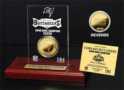 Tampa Bay Buccaneers Tampa Bay Buccaneers SB Champs Etched Acrylic