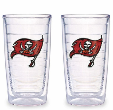 Tampa Bay Buccaneers Set of TWO 16 oz. Tervis Tumblers