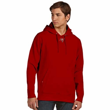 Tampa Bay Buccaneers Mens Signature Hooded Sweatshirt (Team Color: Red)