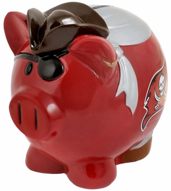 Tampa Bay Buccaneers Piggy Bank - Thematic Small