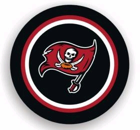 Tampa Bay Buccaneers Spare Tire Cover (Small Size)
