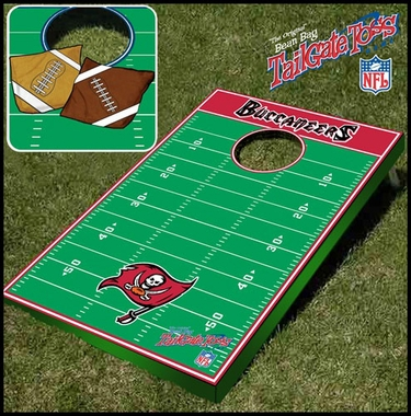 Tampa Bay Buccaneers Tailgate Toss Cornhole Beanbag Game