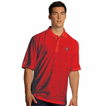 Tampa Bay Buccaneers Mens Tonal Polo (Team Color: Red)