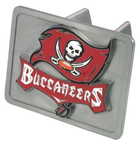 Tampa Bay Buccaneers Trailer Hitch Cover