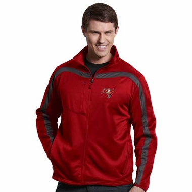 Tampa Bay Buccaneers Mens Viper Full Zip Performance Jacket (Team Color: Red)