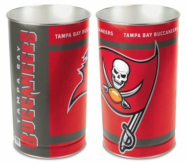 "Tampa Bay Buccaneers 15"" Waste Basket"