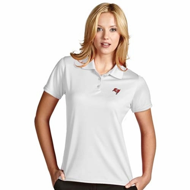 Tampa Bay Buccaneers Womens Exceed Polo (Color: White)