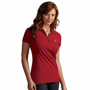 Tampa Bay Buccaneers Womens Spark Polo (Team Color: Red)