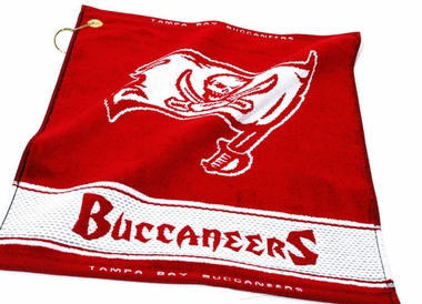 Tampa Bay Buccaneers Woven Golf Towel