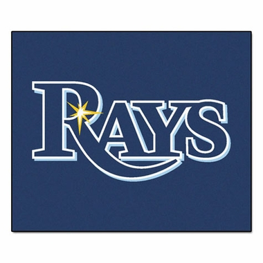 Tampa Bay Rays Economy 5 Foot x 6 Foot Mat