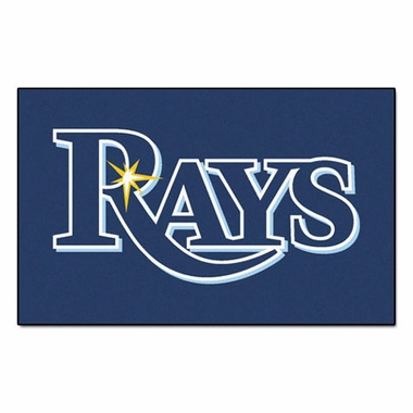 Tampa Bay Rays Economy 5 Foot x 8 Foot Mat